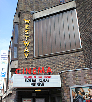 Westway Cinema Frome Outside